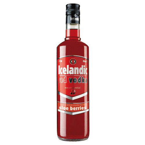 Vodka Icelandic Red | Licores Sinc