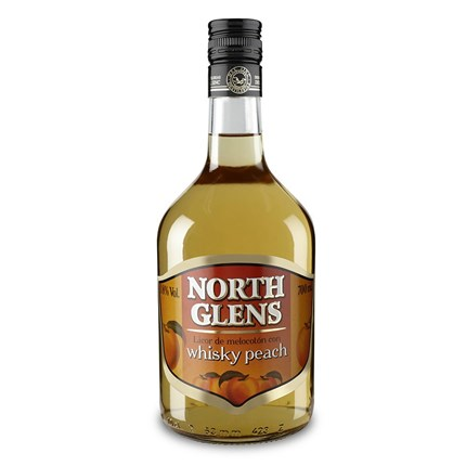 North Glens Whisky Peach 70cl.